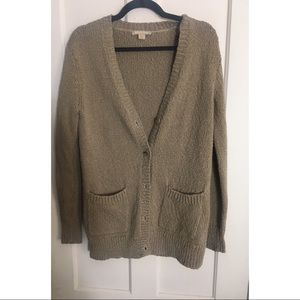Michael Kors collection Italian yarn cardigan s